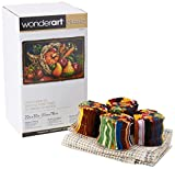 Wonderart Classics Country Harvest Latch Hook Kit, 20'' X 30''