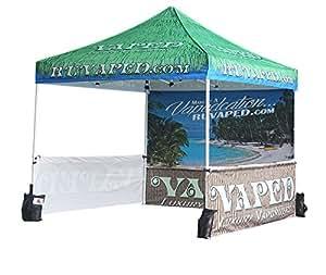 abccanopy comercio personalizada tiendas de campaña 10x 10portátil Trade Show Booth W/bolsa con ruedas Bouns 4x peso bolsa