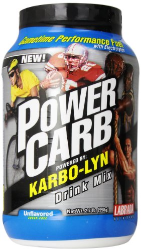 LABRADA NUTRITION Power Carb Gametime Karbolyn, Unflavored, 2.2 Pound by Labrada