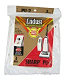 Type PU-2 Sharp Vacuum Replacement Bag (3 Pack), Appliances for Home
