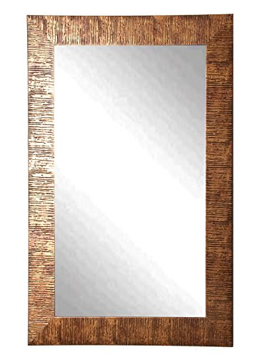 American Made Rayne Safari Bronze 28.5 x 63.5 Floor Mirror (Mirror Floor Bronze)