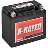 Throttlex Batteries ADX12-BS AGM Replacement Power Sport Battery, 1 Pack
