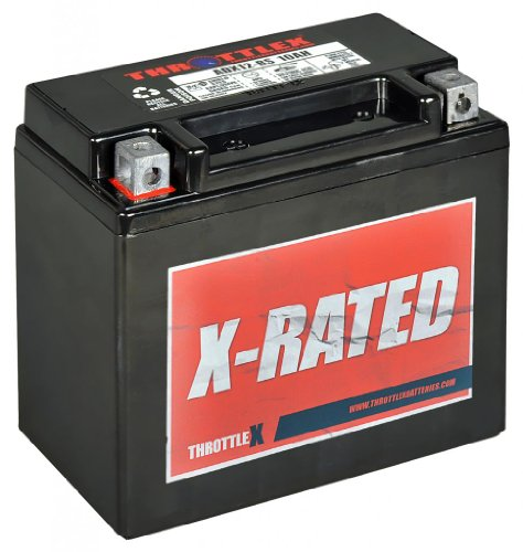 (Throttlex Batteries ADX12-BS AGM Replacement Power Sport Battery)