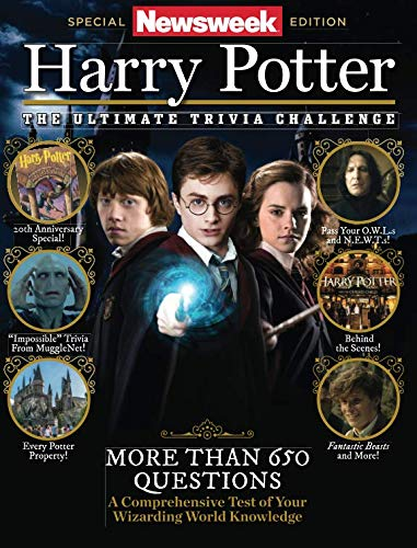 Newsweek:  Harry Potter The Ultimate Trivia Challenge: More than 650 Questions (Harry Potter Games Board)