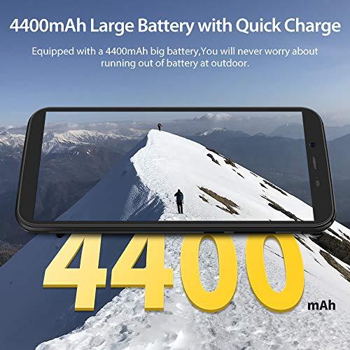 Téléphone Incassable, Blackview® BV5500 Plus Android 10 Smartphone Débloqué 4G avec Écran 5.5 Pouces, 3Go+32Go (SD 128Go… 4
