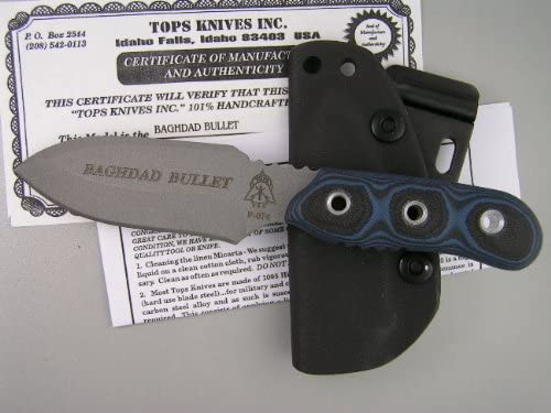 Tops Knives Review