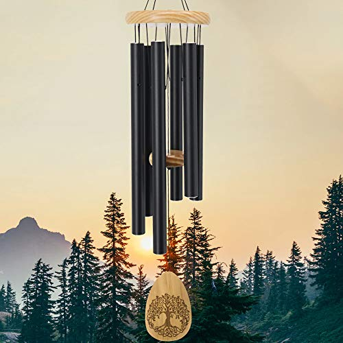 sinfinate Wind Chimes for Outside, Memorial Wind Chimes Outdoor Sympathy Gifts
