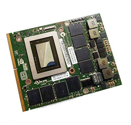 - Genuine New 2GB Video Graphics Card Replacement for Dell Alienware M15X R1 R2 M17X R1 R2 R3 R4 M18X R1 R2 Gaming Laptop NVIDIA GeForce GTX 580M GDDR5 MXM VGA Board Upgrade Repair Parts