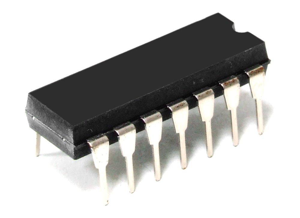 2x Motorola SN74LS08N Quad 2-Input AND Gate / Gatter 4-Fach 2-Eingä nge IC DIP-14 (Generalü berholt)