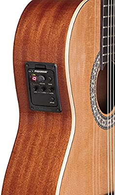 Toledo Julia 44 CG CTE – Guitarra clásica electrificada cutaway ...