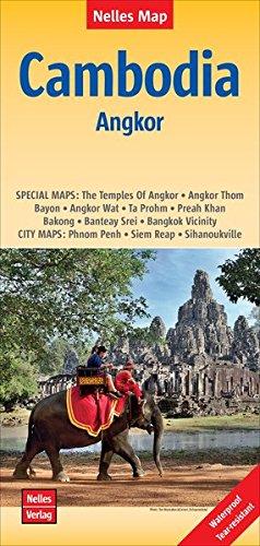 Cambodia-Angkor Map (2015) (English, French and German Edition)...