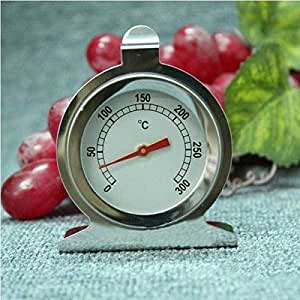 VeryOne Stainless Steel Oven Thermometer Kitchen Baking Tool