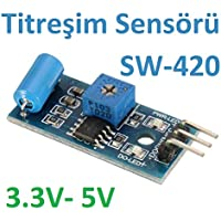 Robotekno Arduino Titreşim Sensörü Modülü SW-420 Raspberry 3.3V - 5V