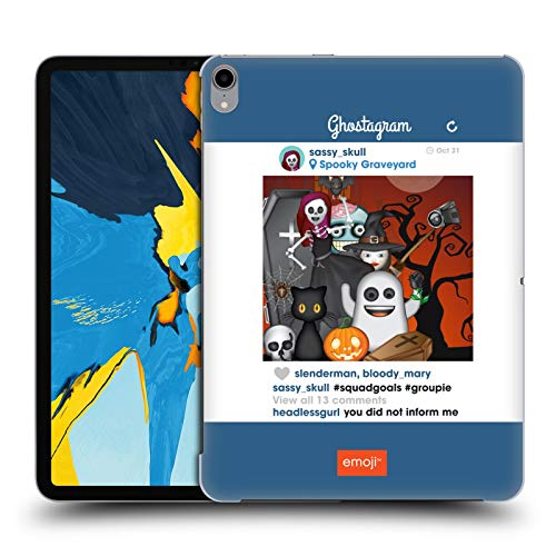 (Official Emoji Squad Goals Halloween Parodies Hard Back Case Compatible for iPad Pro 11)