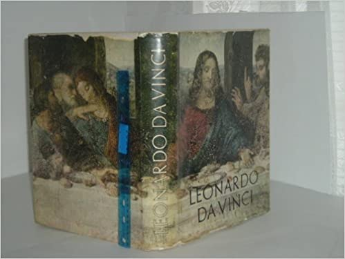 leonardo da vinci 1956 color plates and gravure illustrations large