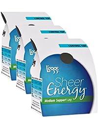 Women`s Set of 3 L`eggs Sheer Energy Control Top ST - Best Seller!