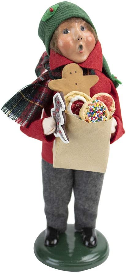 Nuevo Christmas Fair 2020 Amazon.com: Byers' Choice Gingerbread Boy 4464F from The Christmas