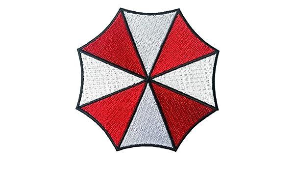 Umbrella Resident Evil - Parche, diseño paraguas pequeño, logo, parche: Amazon.es: Zapatos y complementos