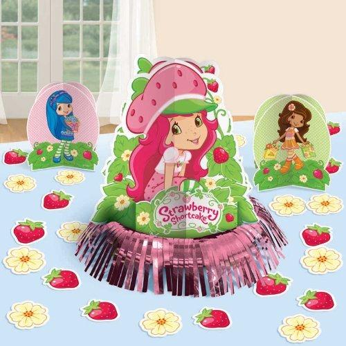 (Amscan Strawberry Shortcake 'Dolls' Table Decorating Kit (23pc))