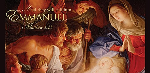 Emmanuel Christmas Nativity Offering Envelope 2012 (Package of 50) ()