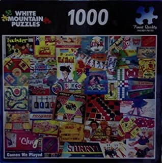product image for White Mountain Puzzles 1000 Piece Jigsaw Puzzle Games We Played