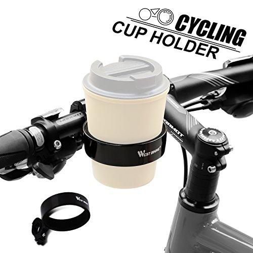 WESTGIRL Bike Cup Bottle Holder Handlebar Coffee Travel Mug Drink Holder Cruiser Mountain Road Bicycle Cycling Accessories