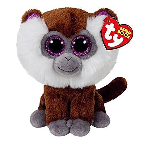 TY Beanie Boos Tamoo-Mono Marrón 15 cm (36847TY) (United Labels Ibérica: Amazon.es: Juguetes y juegos