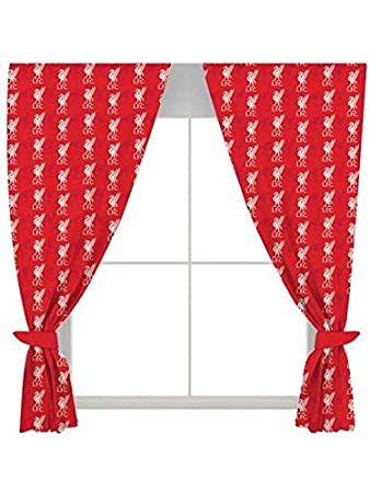 Liverpool 54u0026quot; Drop Curtains Crest Design Part 30