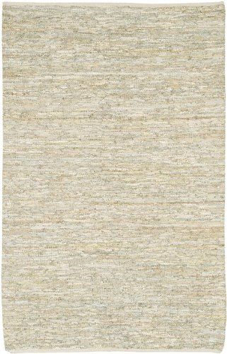 Saket Collection Hand-woven Reversible Leather Rug (7'9 Round) by Chandra Rugs MPN: SAK3703-79RD