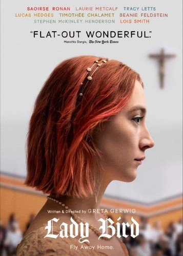 Breaking records as Rotten Tomatoes ''BEST-REVIEWED MOVIE OF ALL TIME'' and five-time Academy Award® nominee (including BEST PICTURE), critics and fans are all applauding for this five-star coming-of-age comedy.Christine ''Lady Bird'' McPherson (SAOI...