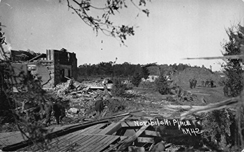 Four 1924 Real Photo Postcards Tornado Damage Ruins in Medford, - Stores In Medford