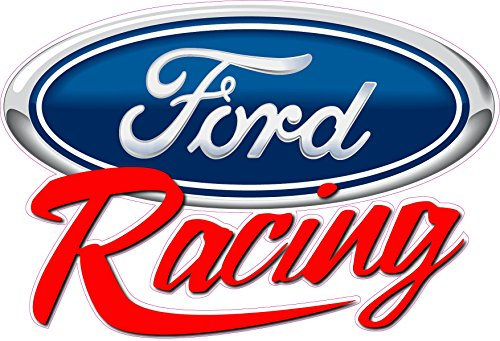 Ford Racing Script Large Decal 12