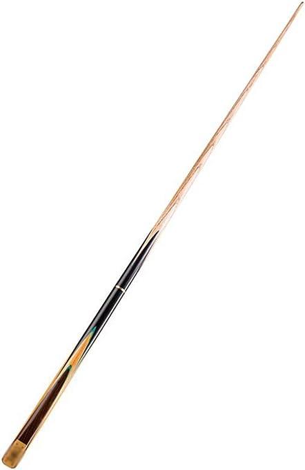 Lcrod Tacos de Billar, Derecho Fuerte Punta 10mm Suave Hecho a Mano Poste de Madera for Principiante Negro 8 Club de Snooker: Amazon.es: Deportes y aire libre