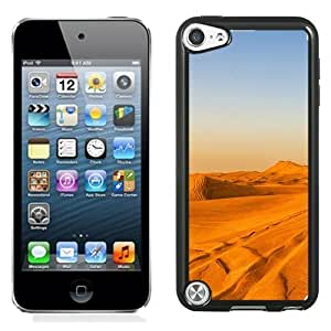 New Beautiful Custom Designed Cover Case For iPod 5 With Wonderful Gloden Desert Landscape Phone Case