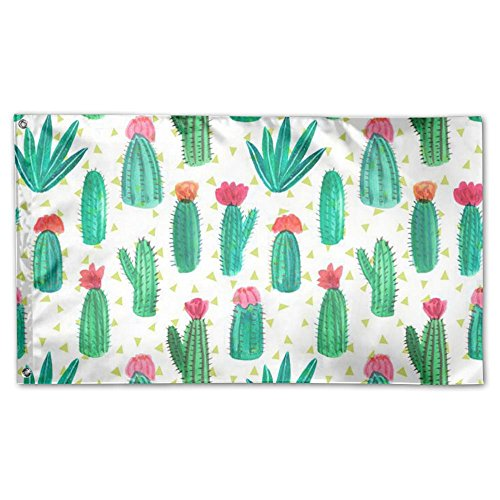 Desert Cactus Flower Home Garden Sign Decorated As Indoor Ou