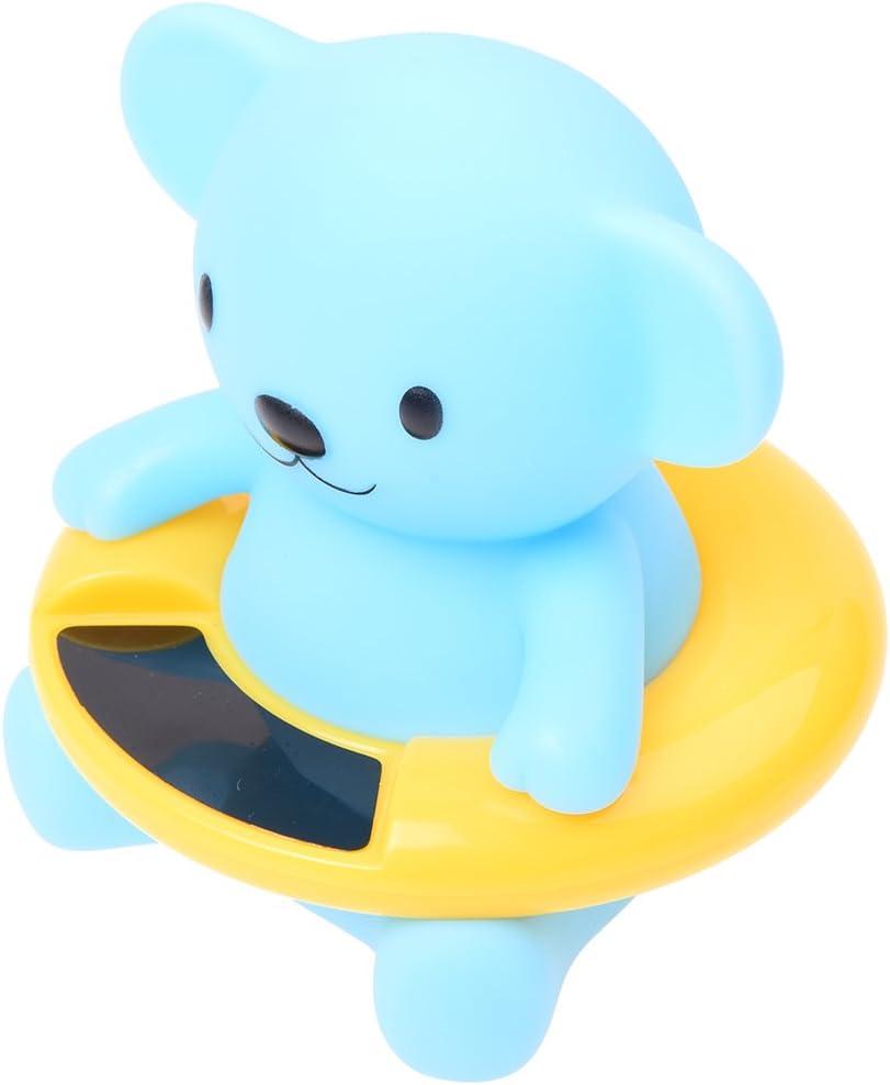 ACAMPTAR Thermometre a flotteur de securite pour bebe//Compteur de temperature deau de baignoire
