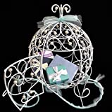 Craft and Party Cinderella carriage centerpiece with pearl decoration