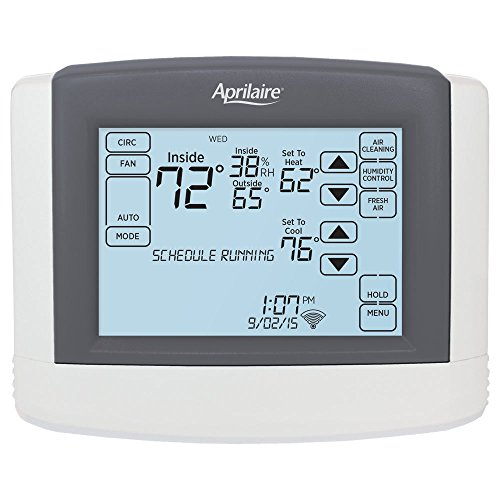 Aprilaire Wi-Fi Touchscreen Thermostat with Integrated IAQ Solution (8820)