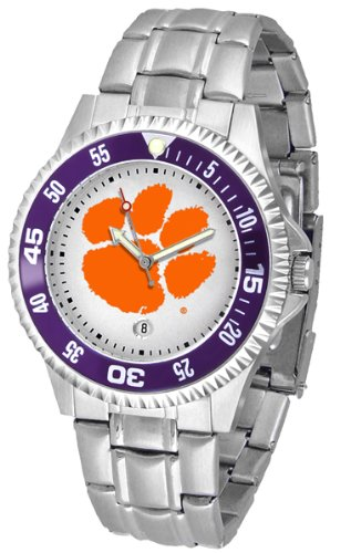 (Clemson Tigers Competitor Steel Men's Watch)