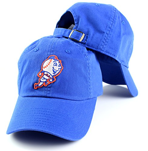 baseball caps met logo new york needle ballpark adjustable hat cap police