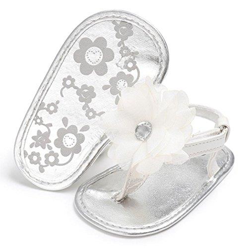 Hunpta Mode Kleinkind Sandalen Sommer Cute Baby Girls Sandalen Kinder Schuhe Weiß