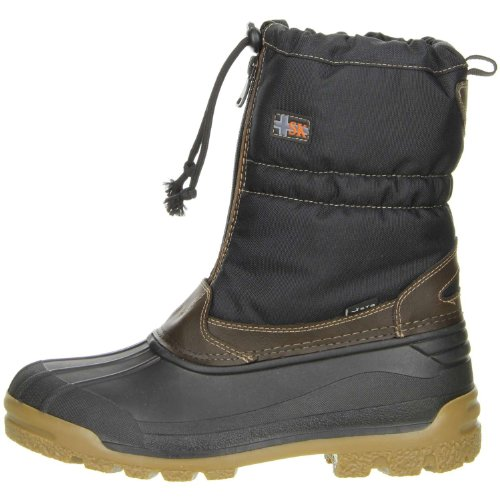 Vista Canada Polar winter boots, for women and men, removable Thermo-Tex inner shoes, brown Brown