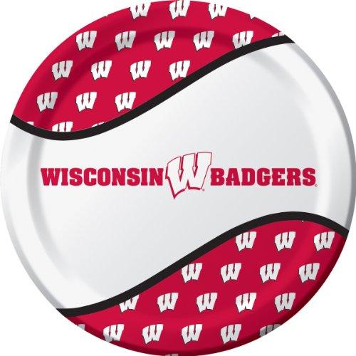 Wisconsin Badgers Dinner Plates Supplies