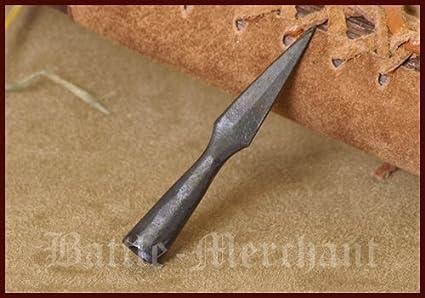 Battle Merchant Blattspitze Handgeschmiedete Pfeilspitze 7cm Mittelalter LARP
