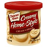 Duncan Hines, Creamy Home-Style Cream Cheese Frosting, 16oz Tub (Pack of 3)