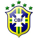 Brazil Soccer Football Futbol Edible Image Cake Topper (1/2 Sheet)