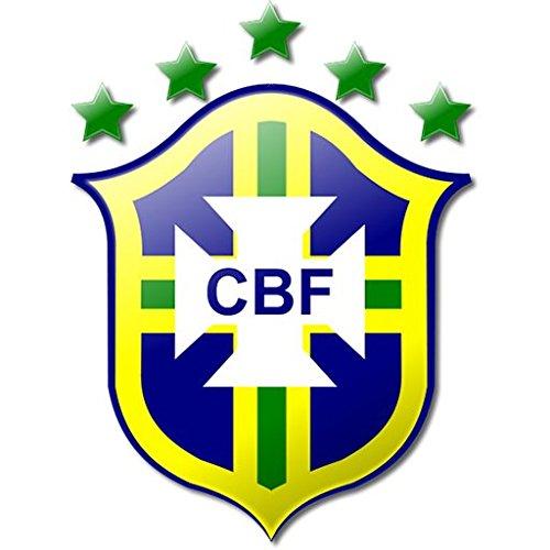 Brazil Soccer Football Futbol Edible Image Cake Topper (1/2 Sheet) by A Birthday Place