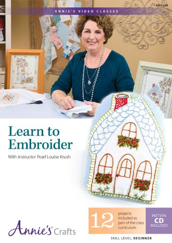 (Learn to Embroider: With Instructor Pearl Louise)