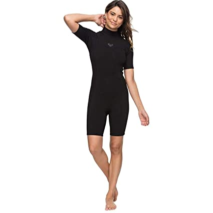 8c556c77a8 Roxy Womens 2 2 Syncro Ser Bz Short Sleeve Sp Flt Black Full Wetsuit Size