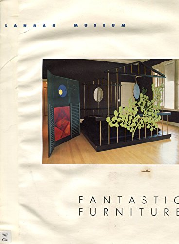 Fantastic Furniture, 1987 Lannan Museum exhibition pamphlet (Furniture Clearwater)